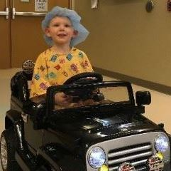 Kids take a sweet ride to surgery at St. Anthony Regional Hospital