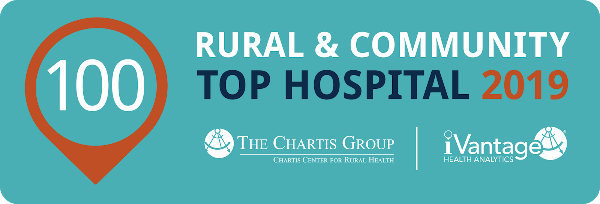 St. Anthony Regional Hospital Recognized by The Chartis Center for Rural Health as 2019 Top 100 Rural & Community Hospital