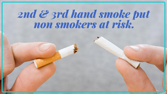 St. Anthony Shares the Dangers of Second- and Third-Hand Smoke