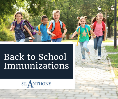 Back to School Immunizations - Why Vaccines are Important