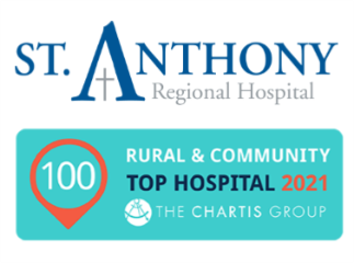 St. Anthony Regional Hospital Honored as a 2021 Top 100 Rural & Community Hospital