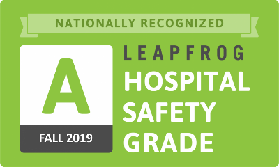 St. Anthony Regional Hospital Nationally Recognized With an 'A'  Grade in Hospital Safety