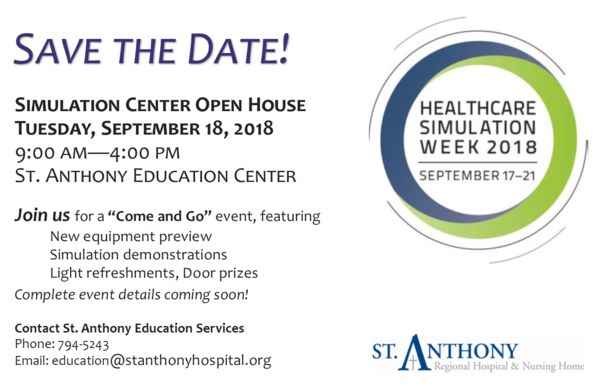 Simulation Center Open House