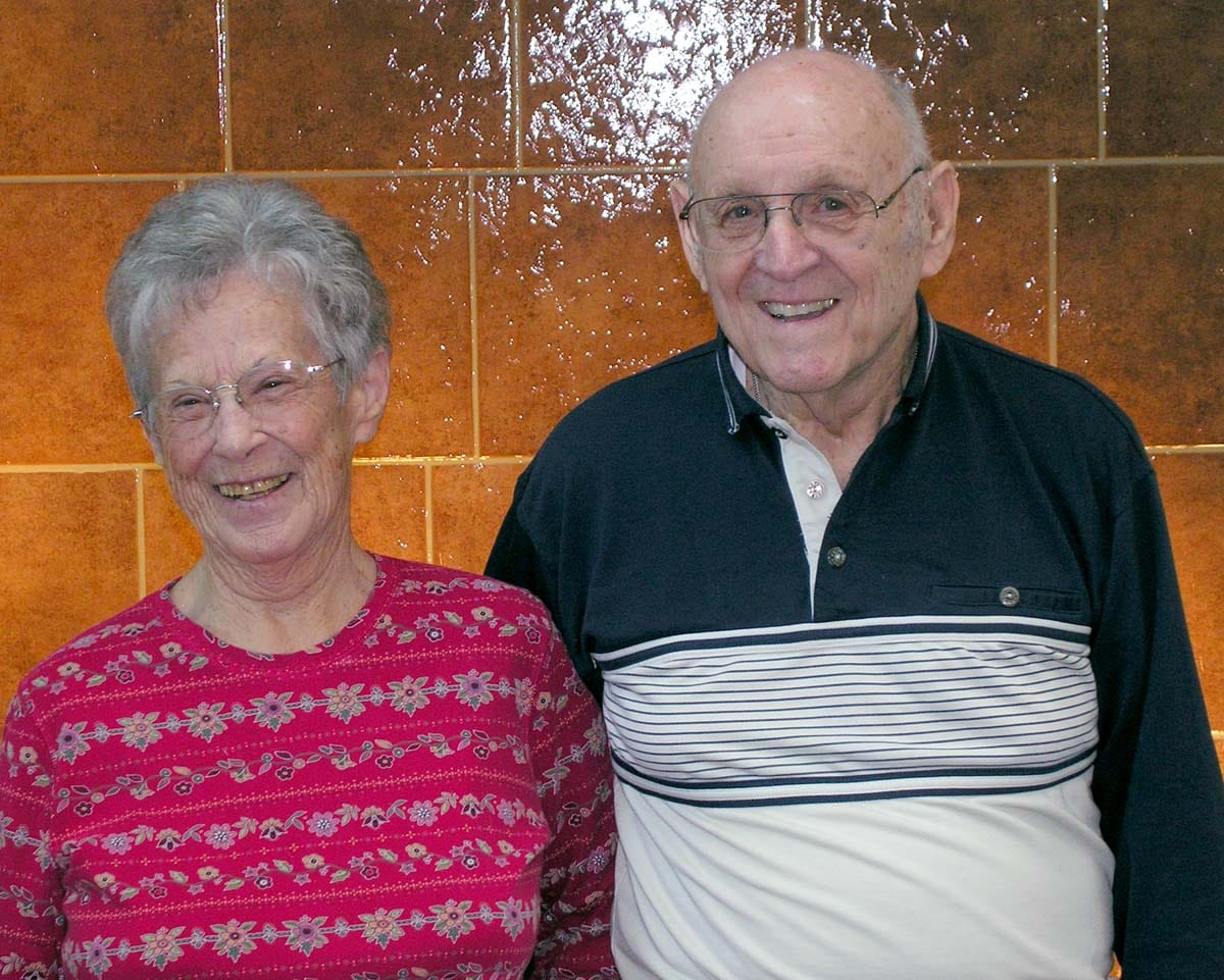 picture of Ken and Wilma Tranter